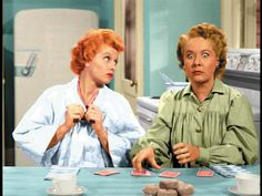 Lucy Ricardo and Ethel Mertz | I Love Lucy | Lucy Thinks Ricky Is Trying To Murder Her