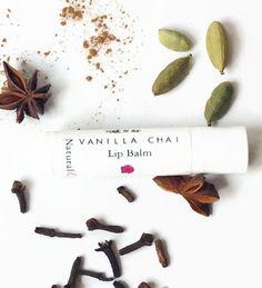 Vanilla Chai Lip Balm/ Honey Lip Balm by naturale on Etsy