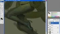 """Une petite video en accéléré d'une mise en couleur sous Photoshop de Jeremy Enecio. ( www.jenecio.com )Impressionant ..et instructif pour les illustrateurs ! ^^Remarquez que le maître utilise abondement les racourcis clavier. Aussi, le """"retournement"""" (axe vertical) pour vérifier et corriger est un réflexe élémentaire que tout bon dessinateur doit avoir !Bon allé ! Je vous laisse profiter !(lien vers le résultat final: http://www.jenecio.com/gallery/tentaclenew.html )"""