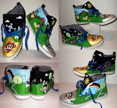 "1st Prize - Youth Division - ""LET'S GET SOME KOOL KICKS BRAH!"" Submitted by: Dustin Steuck Medium: Acrylic Paint Favorite artist: Van Gogh Favorite band: LMFAO"