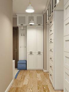 прихожая в стиле прованс в интерьере квартиры