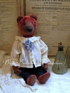 Teddy bear Gavrila Fedorovich By Elena Bestuzheva - Bear Pile