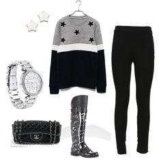 Rain boots and leggings=good combination