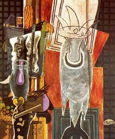Georges Braque, El Velador on ArtStack #georges-braque #art