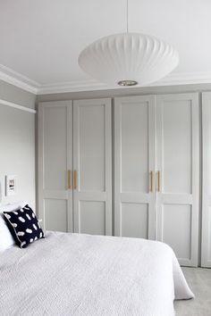Master Bedroom Closet Doors Home 48 Trendy Ideas Bedroom Built In Wardrobe, Bedroom Closet Doors, Bedroom Closet Design, Home Bedroom, Bedroom Ideas, Modern Bedroom, Bedroom Inspo, Contemporary Bedroom, Modern Wardrobe