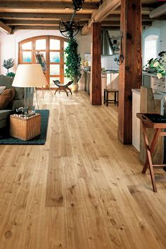 Kahrs Supreme Smaland Hardwood Flooring, inspired by the beauty of the dark forests of Sweden, engineered to be uniquely beautiful & easy to install. Barn Renovation, House Design, House Goals, Hardwood Floors, Tiny House Cabin, House Interior, Hardwood Floor Colors, Flooring, Renovations