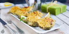 Una ricetta deliziosa per cucinare i carciofi ripieni con la quinoa o con il miglio. Un secondo o contorno davvero delizioso!!