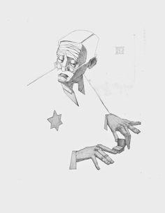Minimal Shylock | The Art of Nicholas McNally