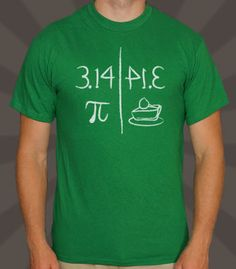 The answer to any equation...is pie.