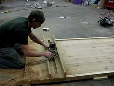 Plane a large table top flat using just a router