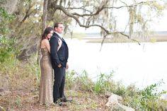 Glamorous Waterfront Engagement // Braylee + Scott - Coastal BrideCoastal Bride