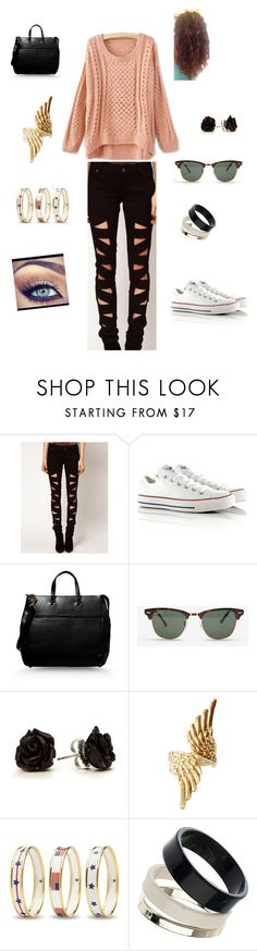26 by braveryandlove on Polyvore featuring moda, Tripp, Converse, Marc by Marc Jacobs, Halcyon Days, Jens Pirate Booty, Dorothy Perkins and Ray-Ban