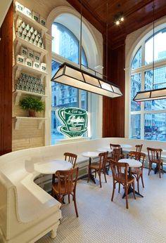 Ralph Lauren's Coffee Shop in NYC - 711 Fifth Avenue
