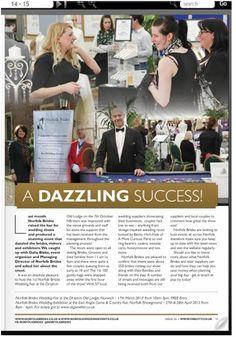 article about Norfolk Brides wedding fair in the Fine City Magazine ( Norfolk )