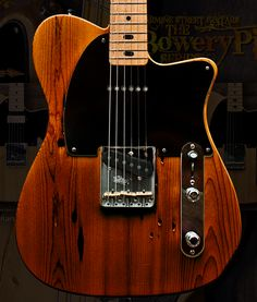 Bowery Pine Guitar Kellyguitars.com