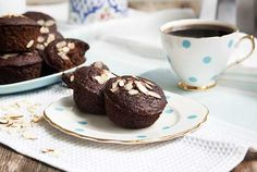 Gluten Free Chocolate Zucchini Muffins – Paleo  (Grain free, gluten free, dairy free)