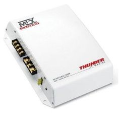 MTX Thunder TM452 2Ch Marine Amplifier by MTX. $137.68. MTX Audio's Thunder Marine is the new number one choice for marine audio with a complete line of amplifiers, speakers, and subwoofers. Unlike other marine product that is just a white version of car stuff, Thunder Marine is designed for the harshest marine environment. Conformal board coatings help to prevent corrosion, and thermal rail regulation helps to control amplifier temperature. Sealed covers keep amplifier con...