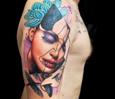 Woman Tattoo by Dave Paulo​ | Tattoo No. 13567