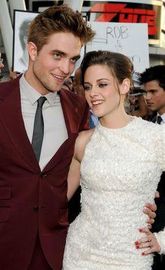 Rob Pattinson & Kristen Stewart at Eclipse Premiere in L.A. June 2010