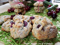 zucchini and cherry cookies