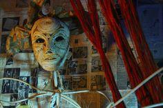 "Objekttheater-Installation ""HAG"" ... 14. - 16. Juni, Wien, Sechshauser Straße 28 Theater, Lion Sculpture, Statue, Art, Photo Illustration, Art Background, Theatre, Kunst, Teatro"