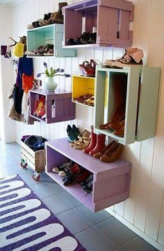 Cute kids storage!