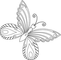 Design Set 2 butterflies/flowers Butterfly Drawing, Butterfly Flowers, Insect Coloring Pages, Parchment Craft, Butterfly Pattern, Design Set, Paper Quilling, Bugs, Embroidery Designs