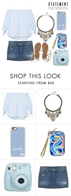 """""""statement necklace {287}"""" by lilyschaefer ❤ liked on Polyvore featuring MANGO, BCBGMAXAZRIA, Casetify, Lilly Pulitzer, Fujifilm, True Religion, Billabong and statementnecklaces"""