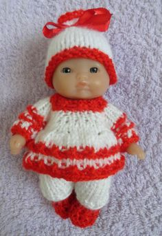 43 Best Knitting For 5 Quot Berenguer Doll Images In 2014