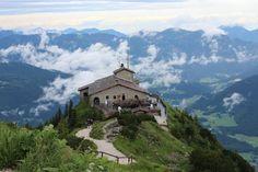 The Eagles nest-- Hitler's entertainment getaway turned restaurant near Munich