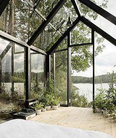 green house-house