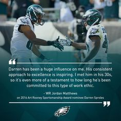 6995bab3a7f Philadelphia Eagles WR Jordan Matthews & RB/KR Darren Sproles