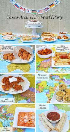 Tastes Around the World Party! !