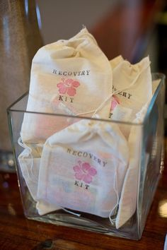 A Much Needed Survival Kit For The Day After Is Cute Wedding Favor Idea
