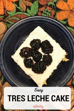 A delicious recipe for Easy Tres Leche Cake on Splendry!