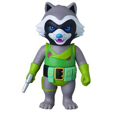 Guardians of the Galaxy Rocket Raccoon Sofubi Vinyl Figure