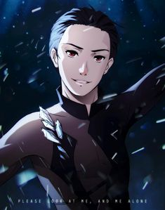 Yuri on ice/ Yuri Katsuki Katsuki Yuri, Yuuri Katsuki, Manga Art, Manga Anime, Anime Art, Yuri On Ice, ユーリ!!! On Ice, Wattpad, Blue Exorcist