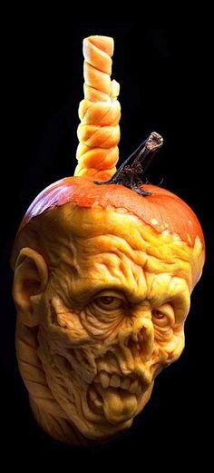 ☆ Hangman Pumpkin Carving :¦: By Artist Ray Villafane ☆