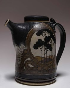 Teapot with Lid by William Wilhelmi / American Art