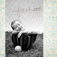 Baseball Baby~TOO stinkin' cute!