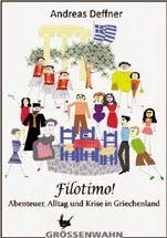 Filotimo! – Lesung mit Andreas Deffner im Goethe Institut Thessaloniki