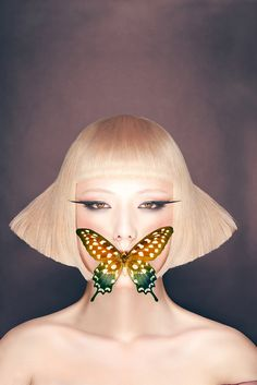 Butterfly ßy #LucLamotte        Photographer : Luc Lamotte,  Assistant : Xavier Ancarno,   Model : YuYu Zhāng,   MUA : Yann Boussand Larcher II,   Hair Stylist : Jeremy Humbert Hairstylist Pro,   Retouch : Christelle Cossart