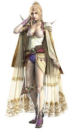 Final Fantasy IV - Rosa Farrell (White Mage)