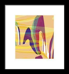 Desert Wind Framed Print By Elva Robinson
