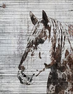Napoleon Horse. Extra Large Horse, Unique Horse Wall Decor, Brown Rustic Horse, Large Contemporary Canvas Art Print up to 72 by Irena Orlov  Wall Art Decor for Home, Office or Hotel  Farmhouse Rustic Horse Painting Print on Canvas – 8 Sizes Available  So striking, this is my Farmhouse Horse Painting – a canvas print of my original artwork. I also give you the option to have the print hand embellished, which is essentially painting over certain areas of the print with additional brush…