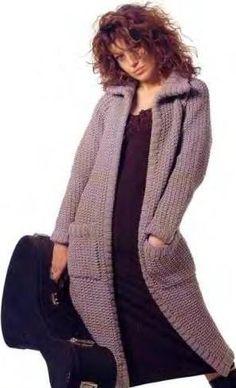 Вязание крючком спицами кардиган пальто