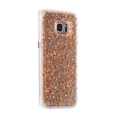 Samsung Galaxy S7 Edge Rose Gold Karat Case - image angle 1