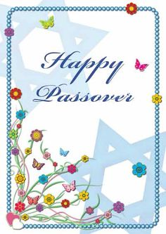 Free Printable Passover Cards - my-free-printable-cards.com