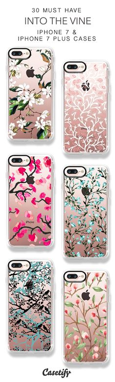 30 Most Popular Into The Vine iPhone 7 Cases and iPhone 7 Plus Cases. More Tree iPhone case here > https://www.casetify.com/collections/top_100_designs#/?vc=WUTxnvDe4r