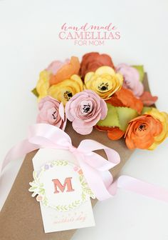 Paper Flower Bouquet for Mom